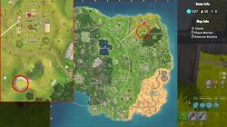 fortnite br where to find floating lightning bolts