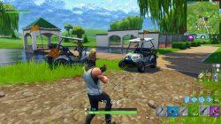 fortnite br where to find golf kart