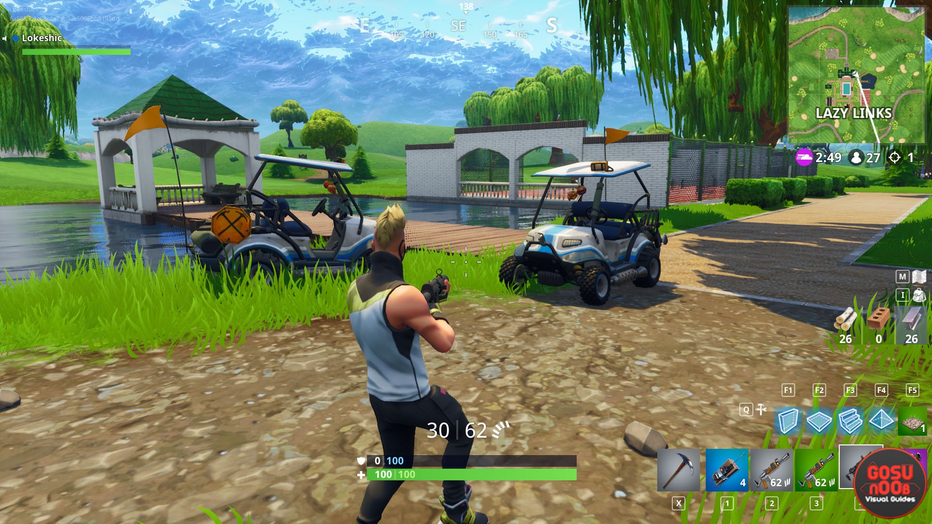 Fortnite BR ATK Golf Cart Locations - Where to find All ...