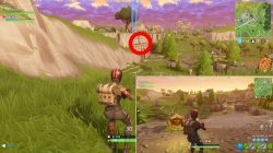 risky reels treasure map solution location fortnite season 5 week 1