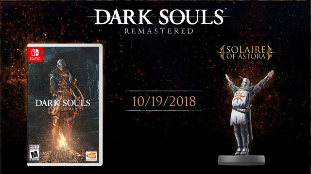 Dark Souls Nintendo Switch Version Release Date Announced