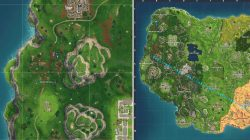 Follow the Treasure Map Found in Snobby Shores Fortnite BR Challenge Map Location
