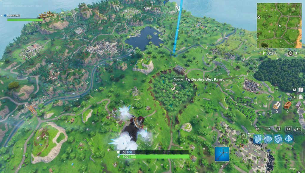 Dusty Divot Depot Treasure Map Location Fortnite Season 5 Week 7