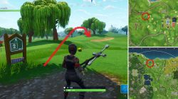 Fortnite BR Golf Par Location