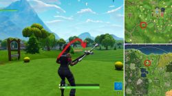 Fortnite BR Where to find Golf Tee Locations