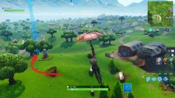 Fortnite Follow the Treasure Map found in Dusty Divot