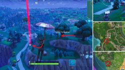 Fortnite Where to find Flaming Hoops Locations