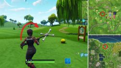 Golf Ball Tee Locations Fortnite BR
