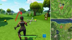 Where to find Golf Tee Locations Fortnite Battle Royale