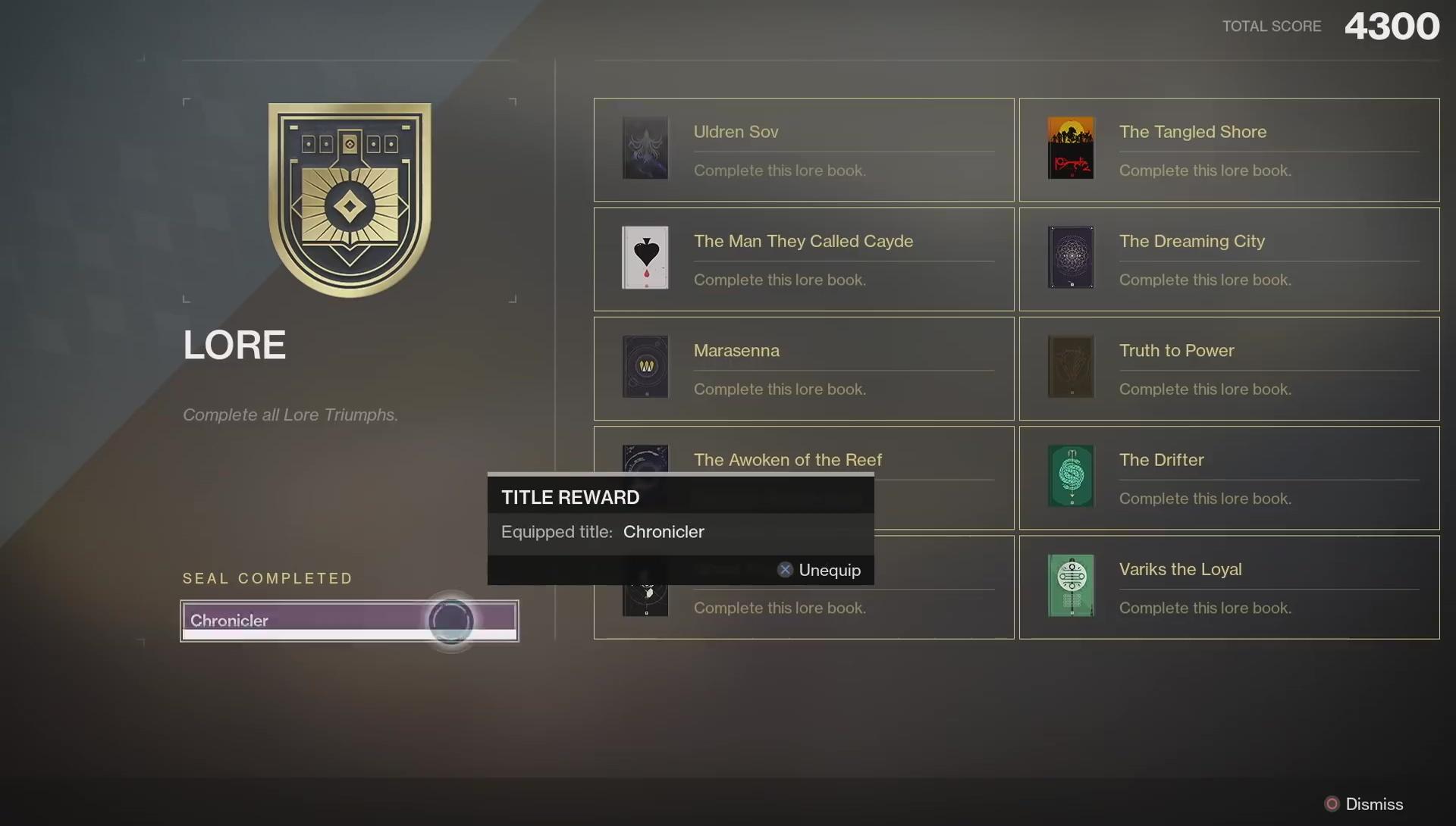 Forsaken Lore Triumphs Destiny 2 - Light, Dawn & Dusk, Darkness