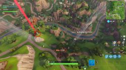 fortnite br stone head orange bridge