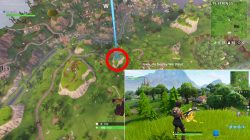 search where the stone heads are looking fortnite br challenge where to find battle star