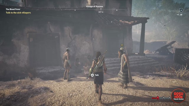 AC Odyssey Blood Fever Quest Kill or Spare Village of Kausos