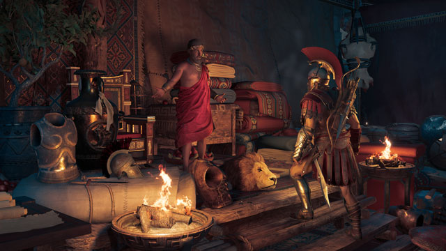 Assassin's Creed Odyssey Oikos of the Olympians is a Legendary Store