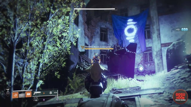 Destiny 2 Mazan Lost Captain Widow's Walk Wanted Bounty Location