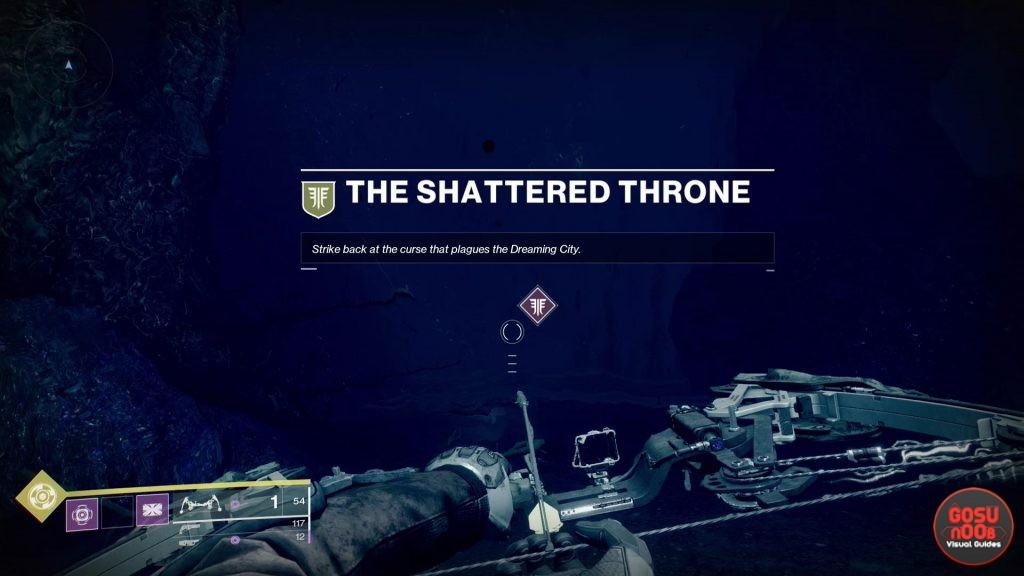 Destiny 2 Shattered Throne Dungeon Location - How to Start