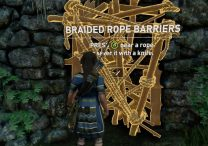 How to Cut Braided Ropes - Shadow of the Tomb Raider