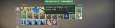 How to Get Rasputin Key Fragments in Destiny 2 Forsaken