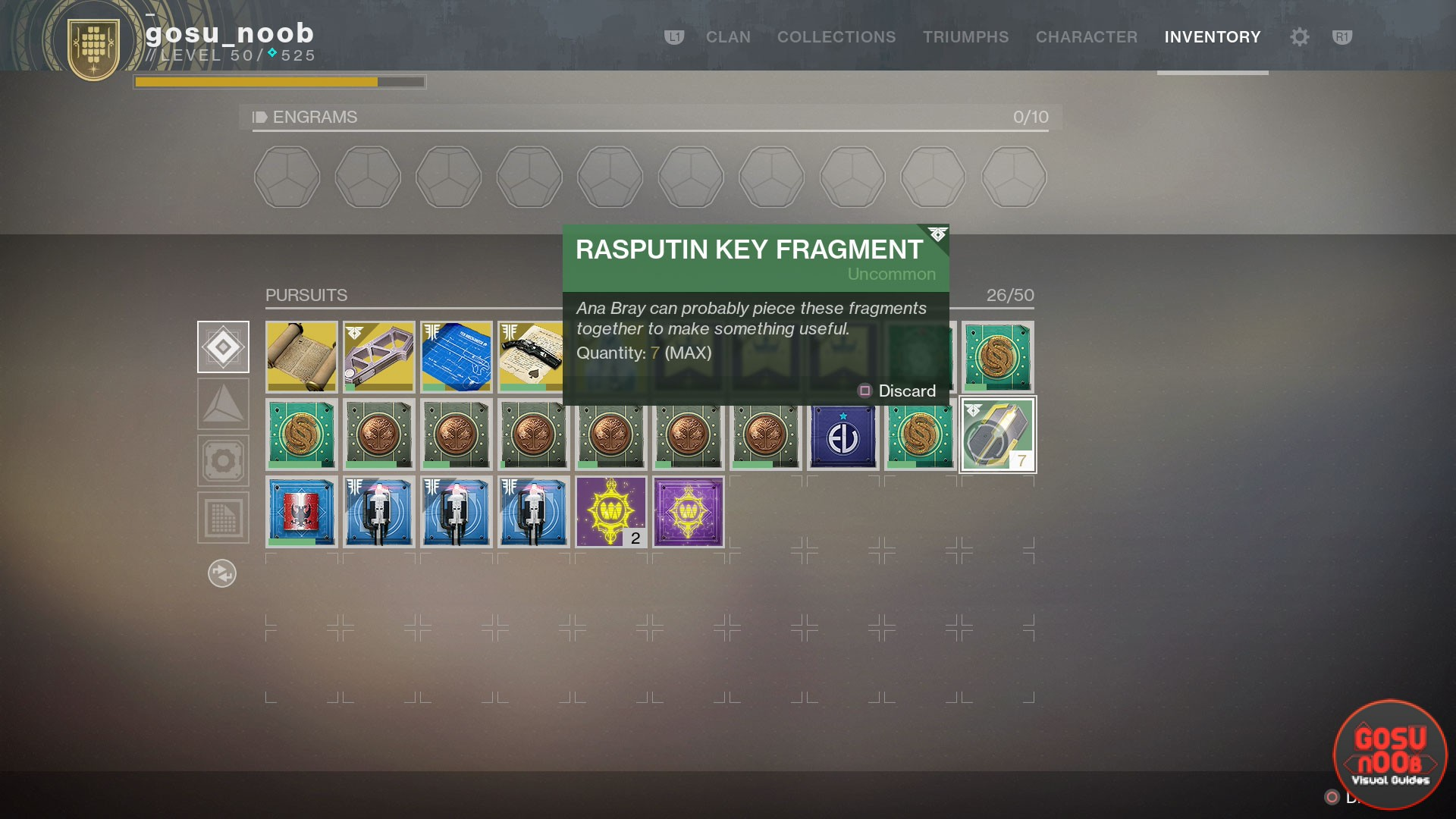 Destiny 2 Forsaken How To Get Rasputin Key Fragments