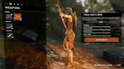 Shadow of the Tomb Raider puka huk bow
