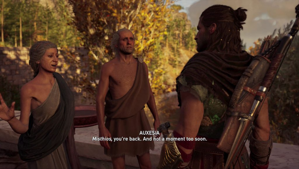 ac odyssey age is just a number side quest