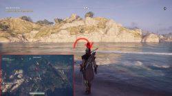 ac odyssey ariabignes shipwreck ainigmata ostraka location
