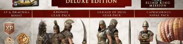 ac odyssey deluxe edition preorder bonus items showcase