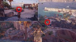 ac odyssey smoke screen ostraka puzzle solution where to find