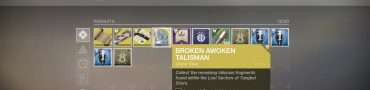 destiny 2 broken awoken talisman quest fragment locations