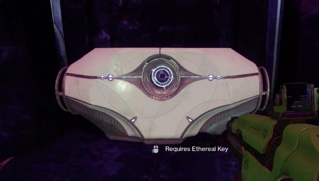 destiny 2 ethereal key chest last wish raid