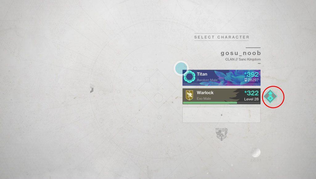 destiny 2 forsaken character booster