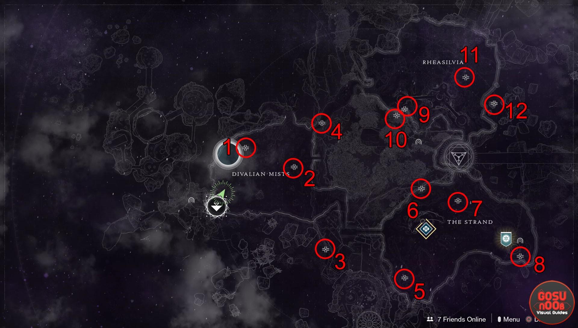 Destiny 2 Dreaming City Region Chest Locations - Forsaken