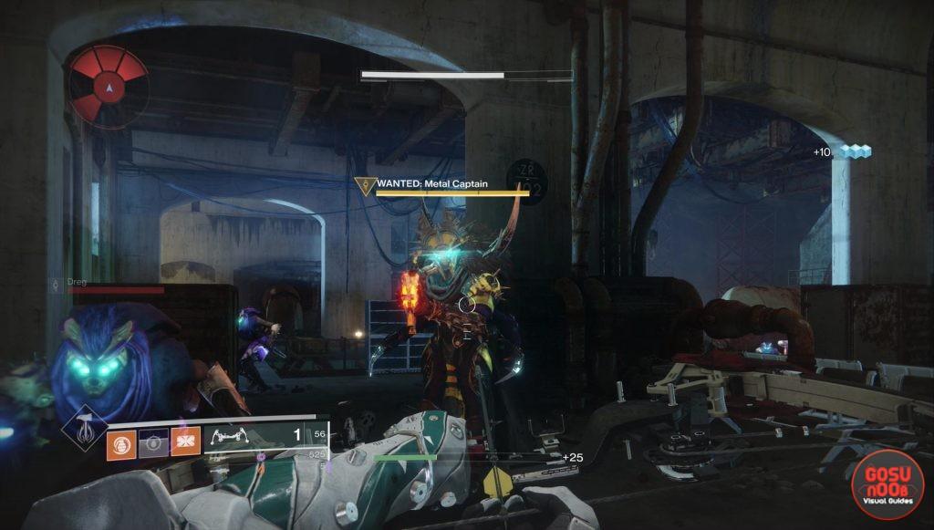 destiny 2 forsaken metal captain location