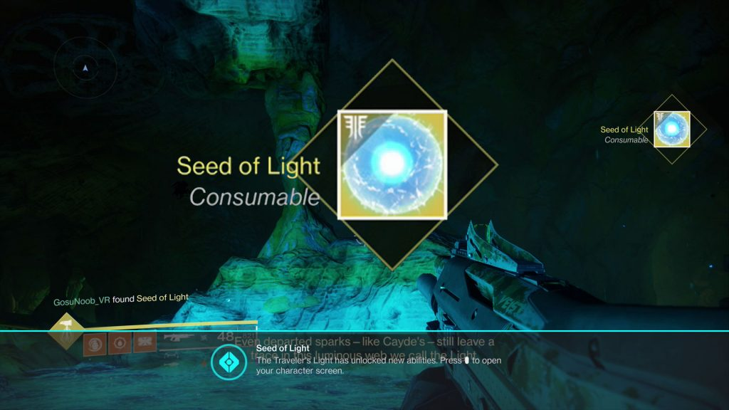 blinding light of destiny guide