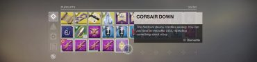 destiiny 2 how to use corsair down