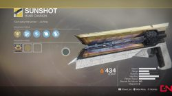 destiny 2 sunshot