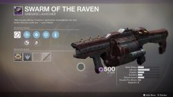 destiny 2 swarm of the raven