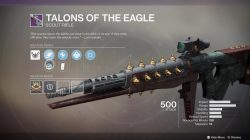destiny 2 talons of the eagle