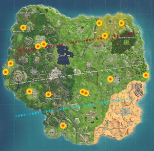 fortnite br basement locations