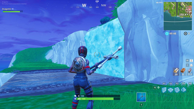 fortnite br where to find covered bridge waterfall 9th green