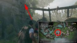 how to solve bridge puzzle rough landing story mission shadow of tomb raider
