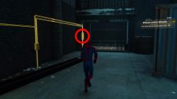 how to solve last trap door spiderman ps4 wheels within wheels mission