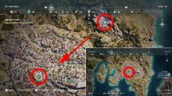 killer view ainigmata ostraka puzzle solution location where to find ac odyssey