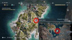 pirate island lion hill ostraka location ac odyssey