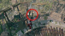 rough landing mission how to raise bridge puzzle solution tomb raider