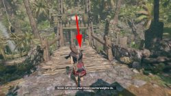 shadow of the tomb raider rough landing mission how to raise bridge solution