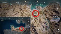 where to find octopus bay temple of poseidon ostraka ac odyssey