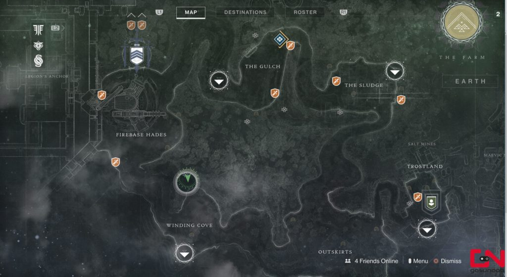 xur location
