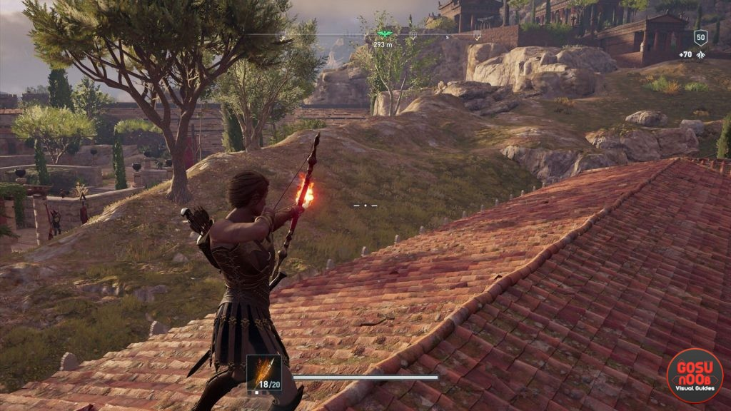AC Odyssey Fire Arrows - How to Make & Unlock Skill
