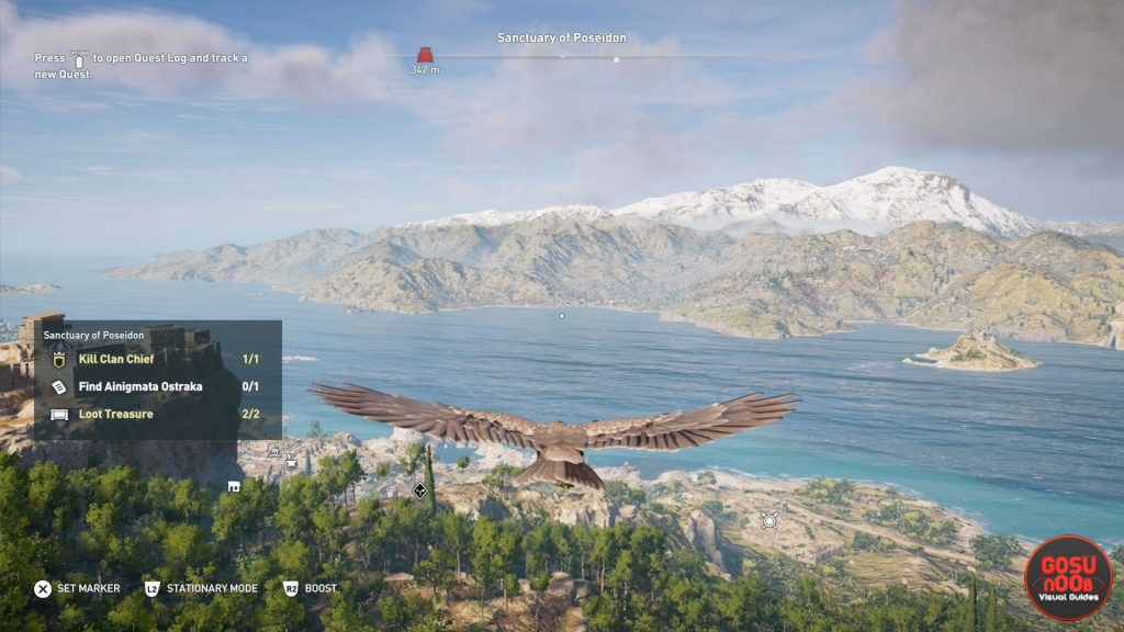 AC Odyssey Ikaros Prompt Notifications - How to Turn Off